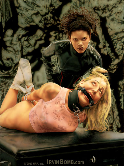 Lady Kayla Erotic Fetish Art Fantasy Paintings Dark