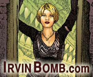 Irvin Bomb Banners