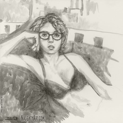 life drawings of women